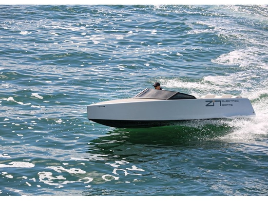 """LOA: 20'0""""   Beam: 6'6""""   Draft (max): 1'6""""   Displacement (approx.): 1,750 lb.   Transom Deadrise: 12 degrees   Bridge Clearance: 3'0""""   Max Cabin Headroom: N/A   Standard Battery Capacity: 40 kWh..."""