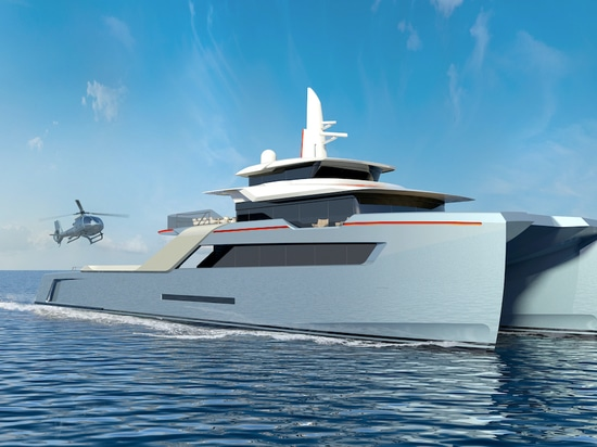 Echo Yachts releases humanitarian support vessel design