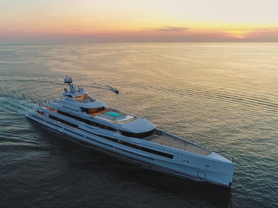 Benetti delivers 107m giga-yacht, FB277 M/Y 'LANA'