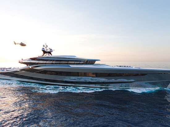 Introducing the Vripack Futura, a bold new yacht changing the face of sustainable design