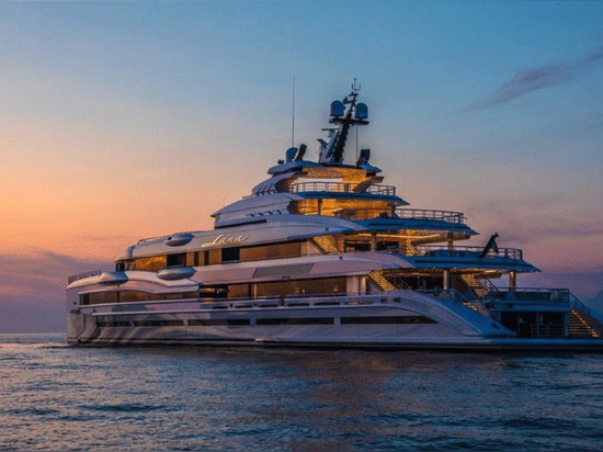 Interiors Revealed: Inside the Recently Delivered 107 Metre Benetti Superyacht Lana