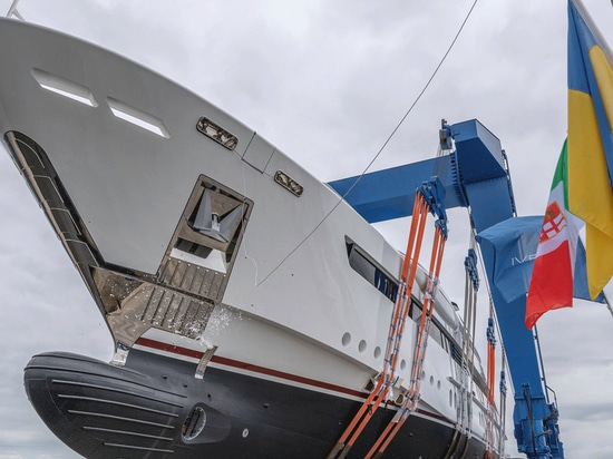 Rossinavi Launches 52 Metre Yacht Florentia