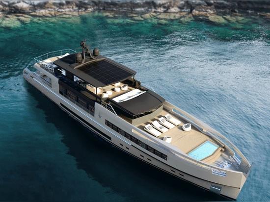 Antonini Navi Reveals 40 Metre Modular Yacht Concept UP40