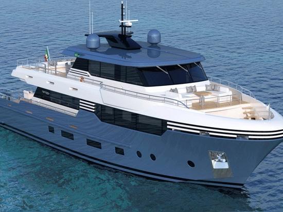 Tommaso Spadolini Reveals Two 28.5 Metre Yacht Models