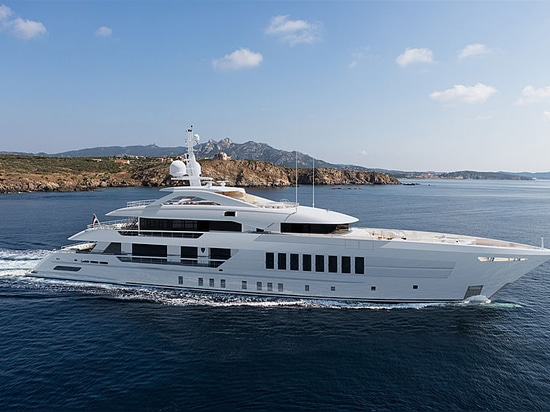 Heesen launches 55m superyacht Project Castor