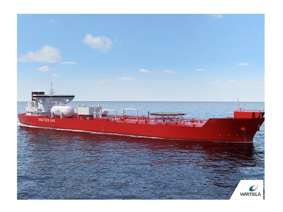 Two new shuttle tankers for the KNOT Group will feature Wärtsilä technology combining VOC recovery with an LNG fuel gas supply system.
