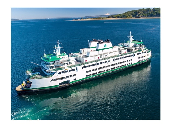 First of new hybrid=electric Olympic Class ferries is set for delivery in 2024