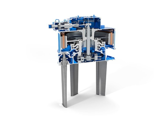 The new eVSP uses a permanent-magnet synchronous motor as its main drive.