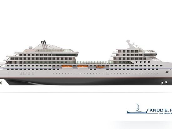 Knud E. Hansen introduces sanitized expedition ship design