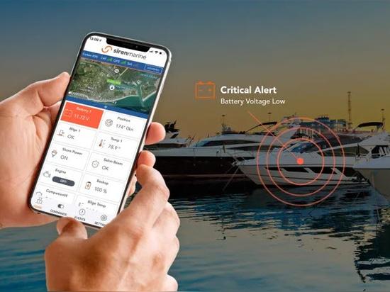 Siren Marine's Next-Gen Connected Boat