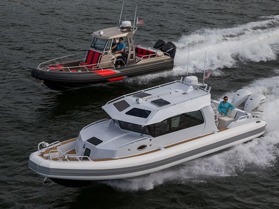 Life Proof Boats 33 Yachtline and 27 Hardtop.