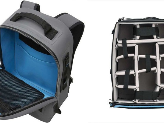 The F-Stop Gear Large ICU fits nicely inside the Yeti Panga backpack.