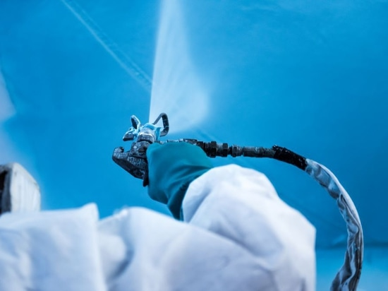 Pinmar starts trial application of Awlgrip sprayable filler