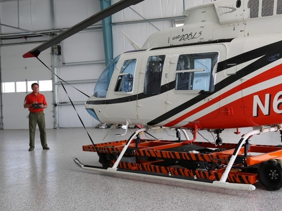 Increased possibilities for helicopter storage on board superyachts