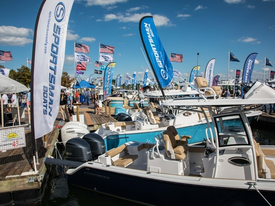 The U.S. Powerboat Show was scheduled for Oct. 1-4.