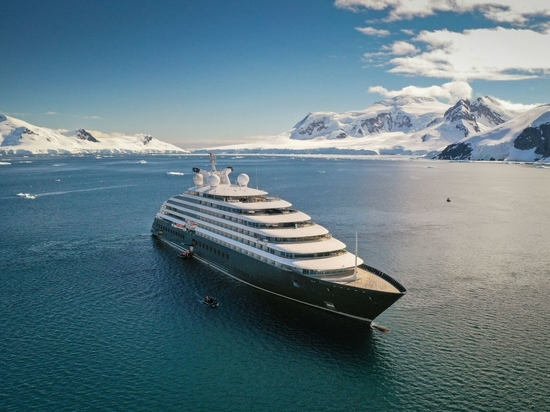 The 168m long Scenic Eclipse is available for private charter for up to 200 guests.