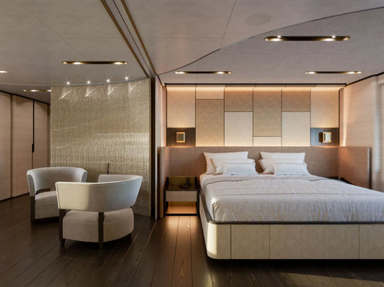 Baglietto Reveals Interior of 48 Metre T-Line Superyacht Hull 10233