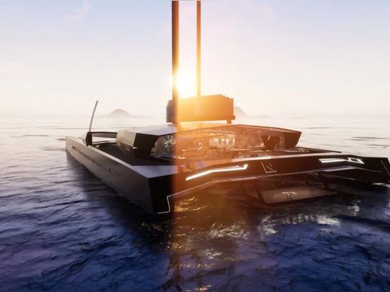 Nemesis Yachts Reveals 101 Metre Futuristic Hydrofoil Concept