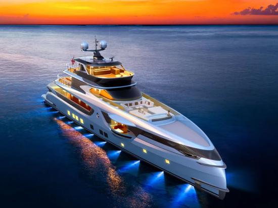 Dynamiq Reveals Renewed GTT 165 Yacht Project