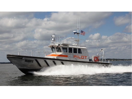 Outside of the wheelhouse are wide side decks, side and rear doors, and heated roof and boarding platforms on the roof.