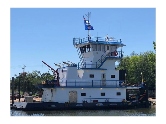 L&L Marine has an option on an additional vessel from of Bayou la Batre-based Rodriquez Shipbuilding.