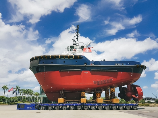 BOLUDA TOWAGE EUROPE TAKES TWO NEW TUGS FROM DAMEN