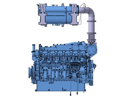 Mitsubishi introduces 1,260 hp EPA Tier 4 marine engine