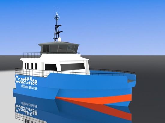 Netherlands start-up orders innovative offshore wind crew vessel