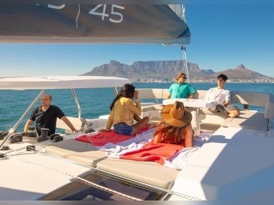Leopard 45: Hard-top adds fresh appeal to this popular catamaran design