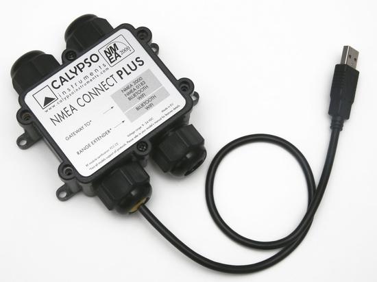 Calypso NMEA Connect Plus: A versatile gateway and range extender to NMEA 0183, NMEA 2000, Bluetooth and WiFi