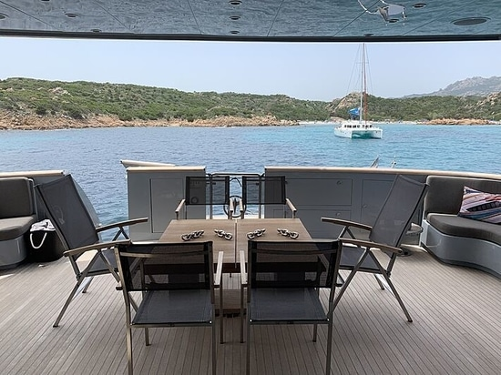 33m Baglietto motor yacht 4US for sale