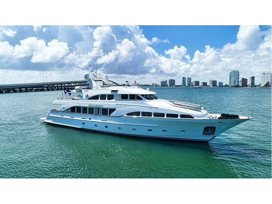 35m Benetti motor yacht Paradigm on the market