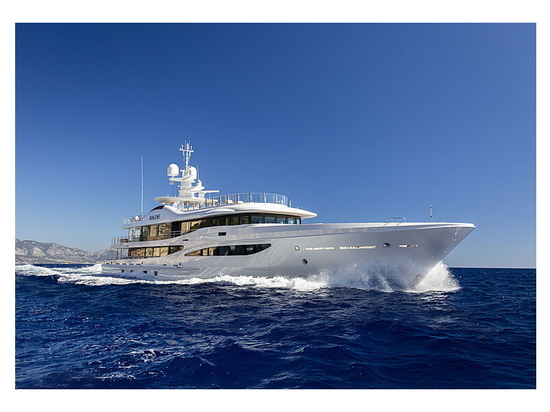 Inside the latest Amels 180 Limited Edition superyacht Galene
