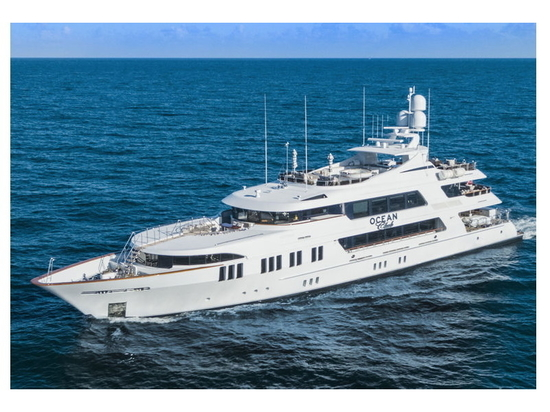 50m Trinity motor yacht Ocean Club on the market