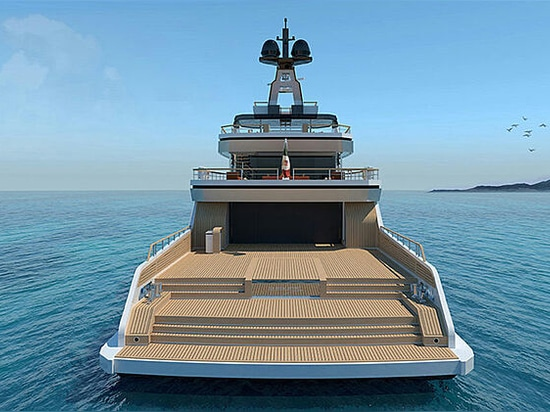 Vittoria Yachts to build 54m explorer Project Bowsprit