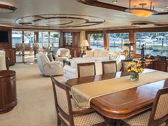34m Westport motor yacht Wild Kingdom on the market