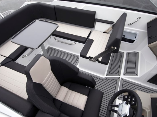 The cockpit is thoughtfully designed with no wasted space