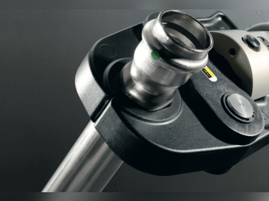Sanpress INOX 316 stainless steel system valves and fittings come in metric sizes from 15 mm to 54 mm