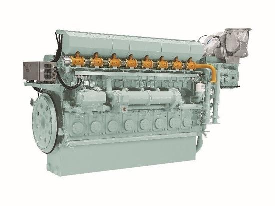 Yanmar engine model 8EY26LDF