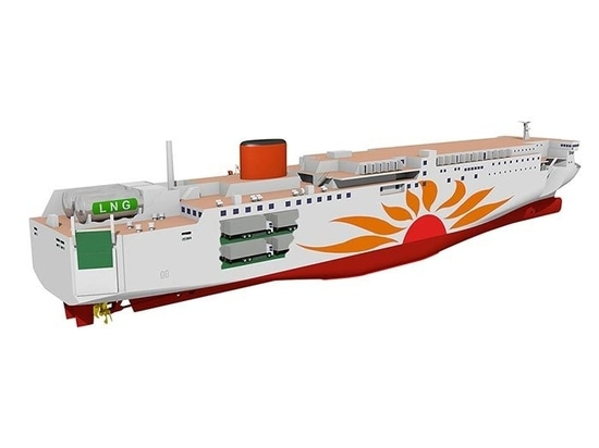 Yanmar generator engines selected for Japanese LNG-fueled ferry duo