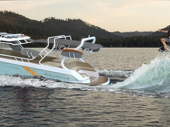 Toy of the month: Gigawave 350 GW-X promises the largest wake surfing wave ever