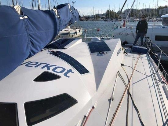 Ari Huusela's boat