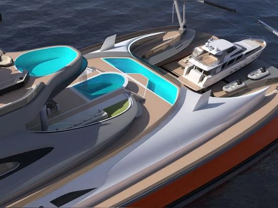 Lazzarini Design reveals 153m superyacht concept Prodigium
