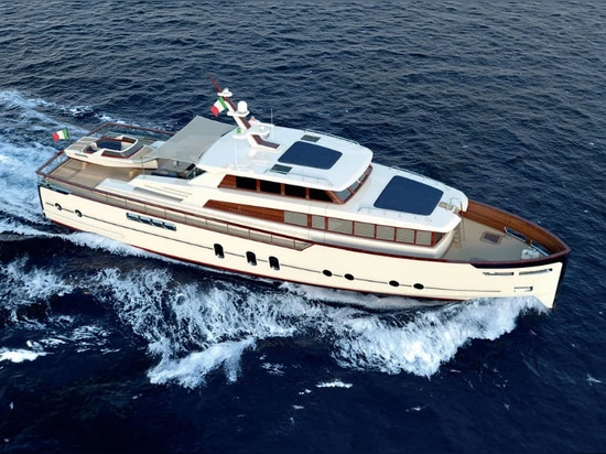 Codecasa and Luca Dini Reveal 24 Metre Gentleman's Yacht Project
