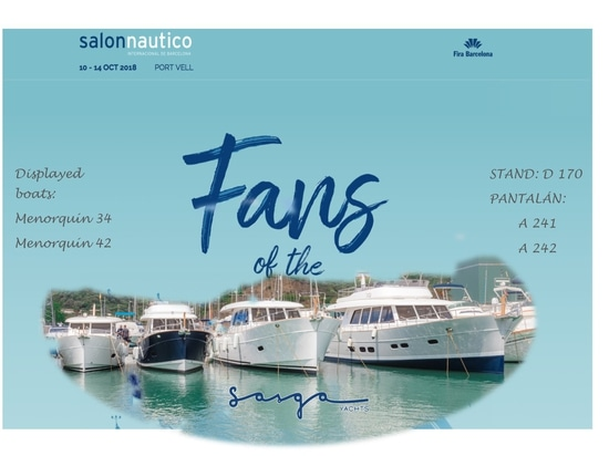 Come visit us at the Barcelona Boat Show