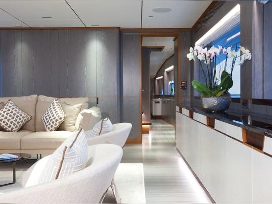 Inside the Fifth Horizon RP110 Yacht Wild Duck