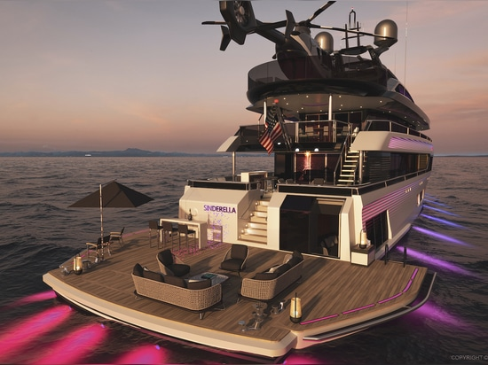 Cantu Design and DFD Design Reveal 51 Metre Yacht Concept Sinderella