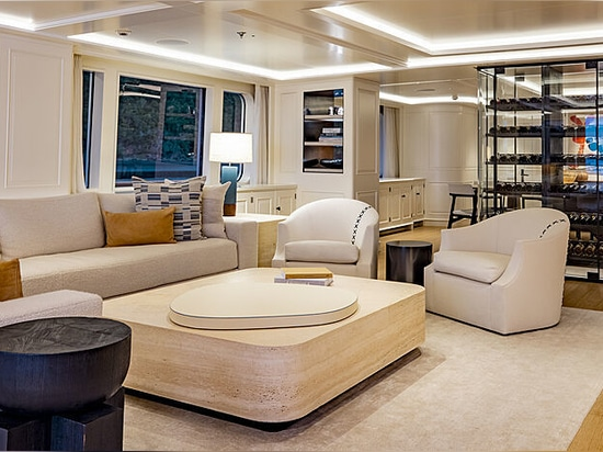 Inside the newly-refitted 56m Feadship yacht Broadwater