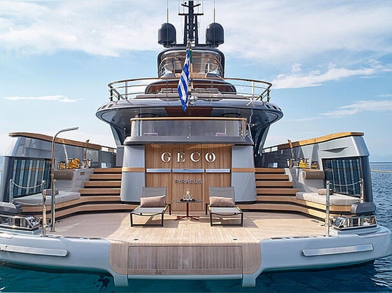Designer of 55m Admiral yacht Geco shares new interior details