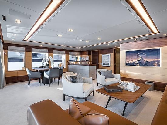 50m Benetti motor yacht Zazou for sale